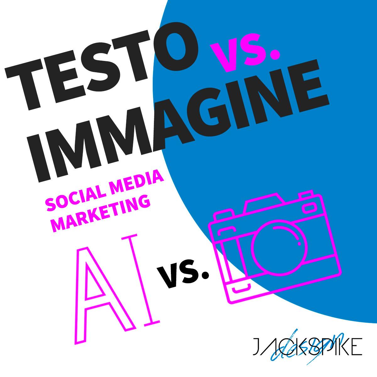 testo vs immagine nel copywriting